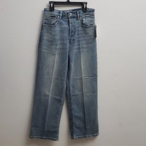 NWT Free People jeans button fly